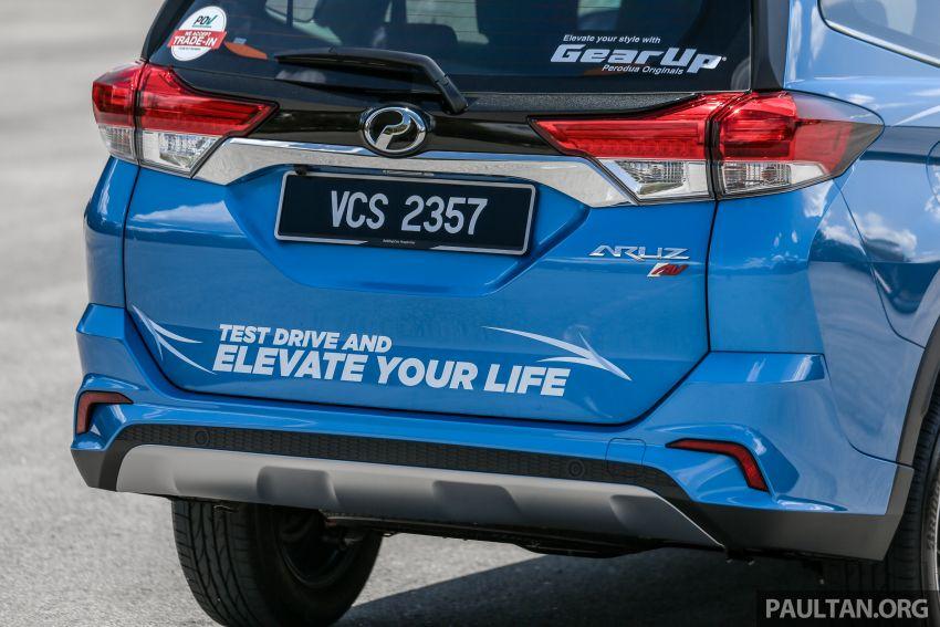 PANDU UJI: Perodua Aruz 1.5 Advance – benar-benar SUV atau sekadar kenderaan gaya hidup masa kini? Image #919658