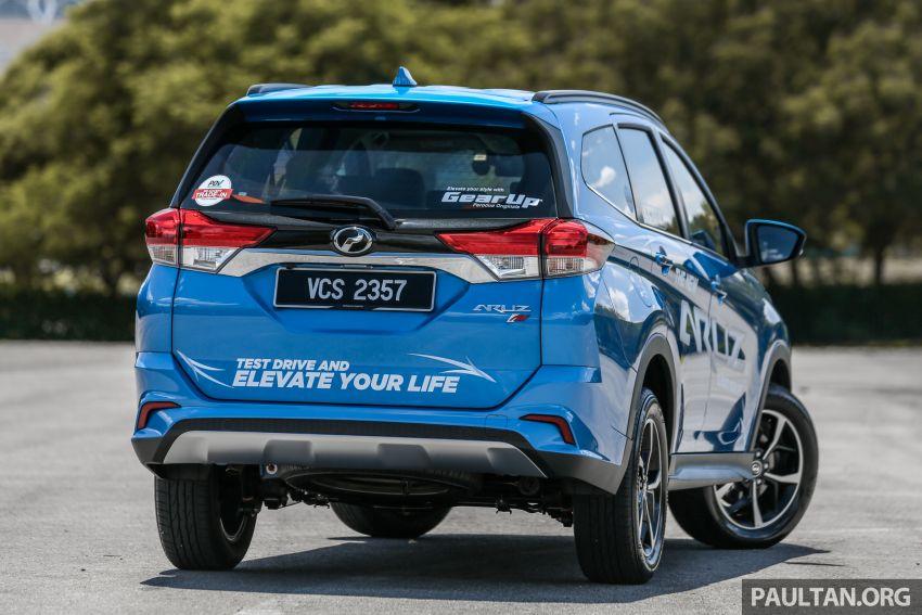 PANDU UJI: Perodua Aruz 1.5 Advance – benar-benar SUV atau sekadar kenderaan gaya hidup masa kini? Image #919638