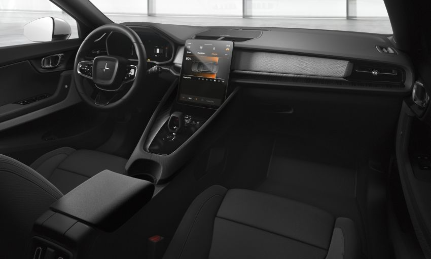 Polestar 2 revealed – production Volvo 40.2 is all-electric with 408 hp, 660 Nm and 500 km of range Image #927604