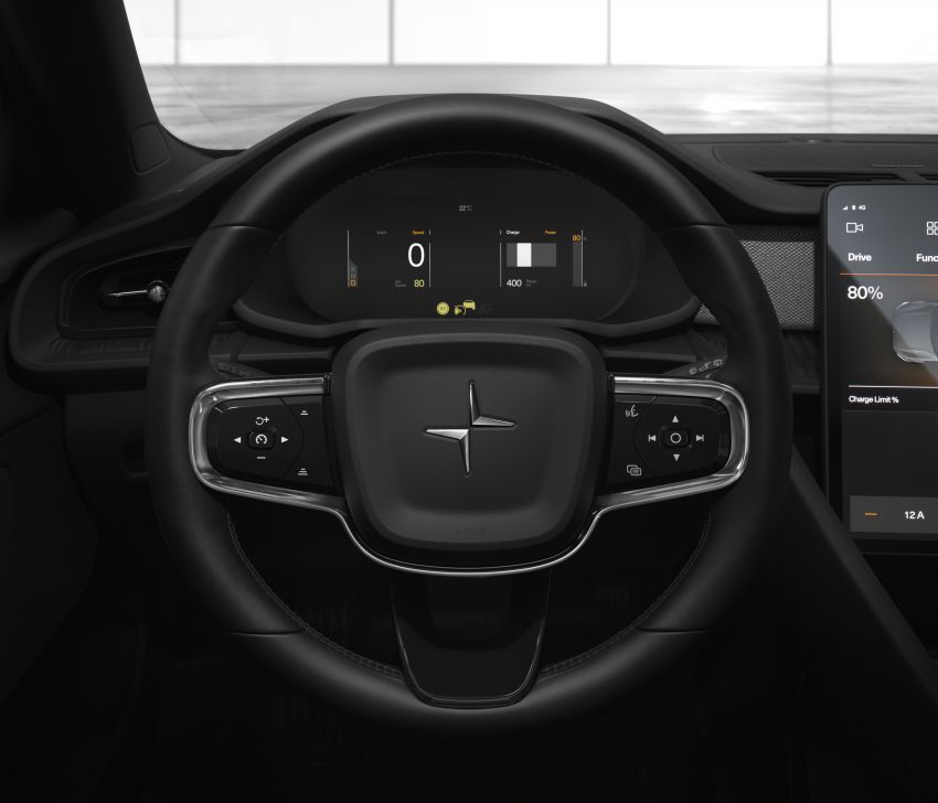 Polestar 2 revealed – production Volvo 40.2 is all-electric with 408 hp, 660 Nm and 500 km of range Image #927607