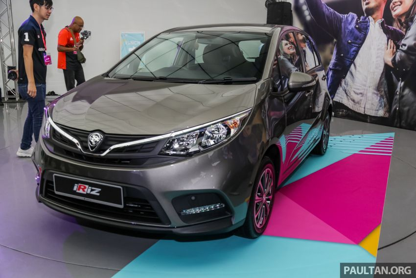 2019 Proton Iriz facelift – lots of improvements; variant breakdown; RM9.99 booking fee from March 1-11 Image #927691