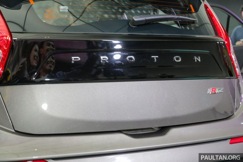 Proton Iriz facelift 2019 – 5 varian ditawarkan; enjin 1.3L dan 1.6L; yuran tempahan RM9.90 dari 1-22 Mac Image #927880