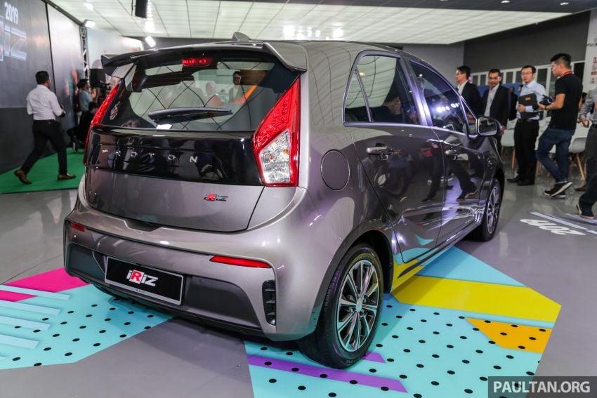 Proton Iriz facelift 2019 – 5 varian ditawarkan; enjin 1.3L dan 1.6L; yuran tempahan RM9.90 dari 1-22 Mac Image #927861