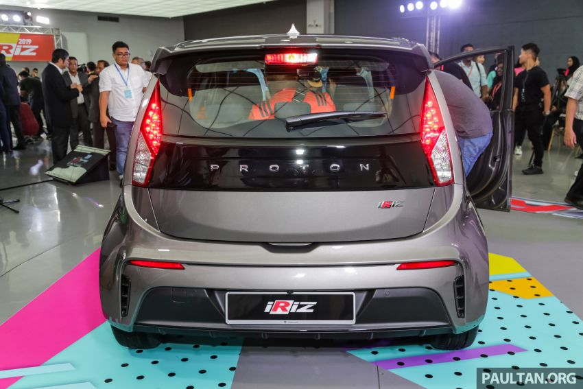 Proton Iriz facelift 2019 – 5 varian ditawarkan; enjin 1.3L dan 1.6L; yuran tempahan RM9.90 dari 1-22 Mac Image #927864