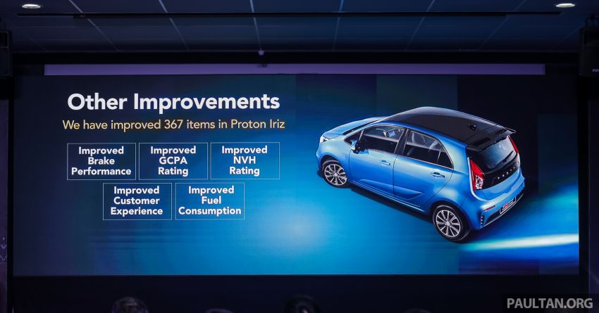 2019 Proton Iriz facelift – lots of improvements; variant breakdown; RM9.99 booking fee from March 1-11 Image #927922