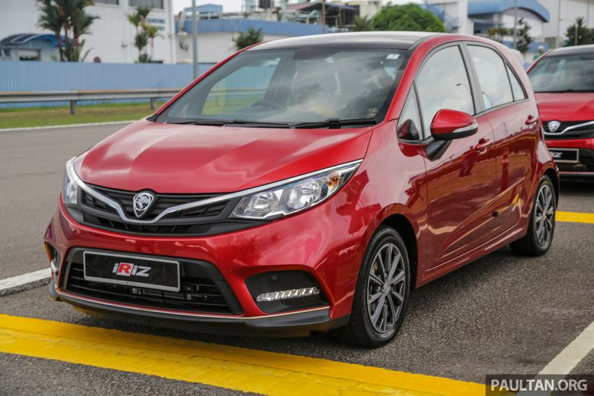 2019 Proton Iriz facelift – lots of improvements; variant breakdown; RM9.99 booking fee from March 1-11 Image #927935