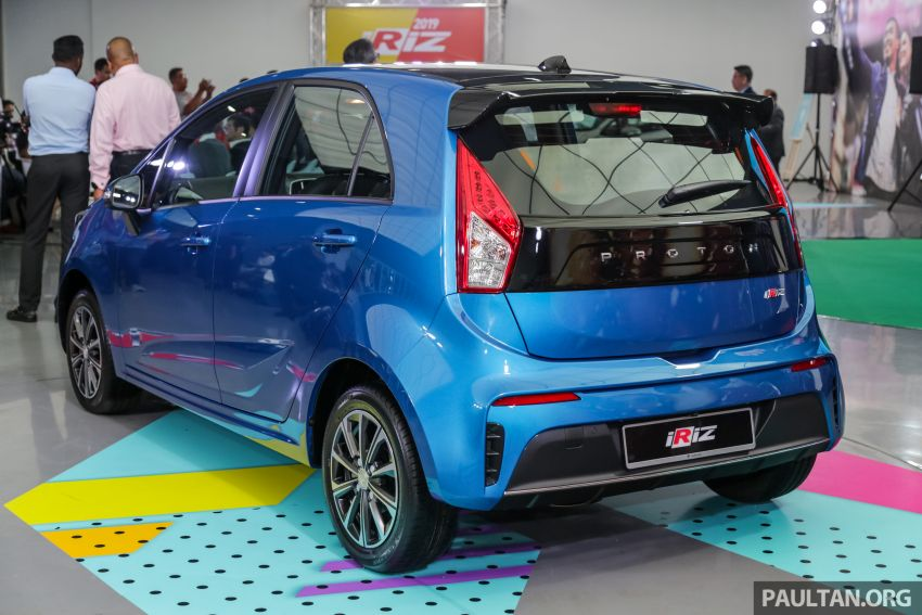 2019 Proton Iriz facelift – lots of improvements; variant breakdown; RM9.99 booking fee from March 1-11 Image #927697