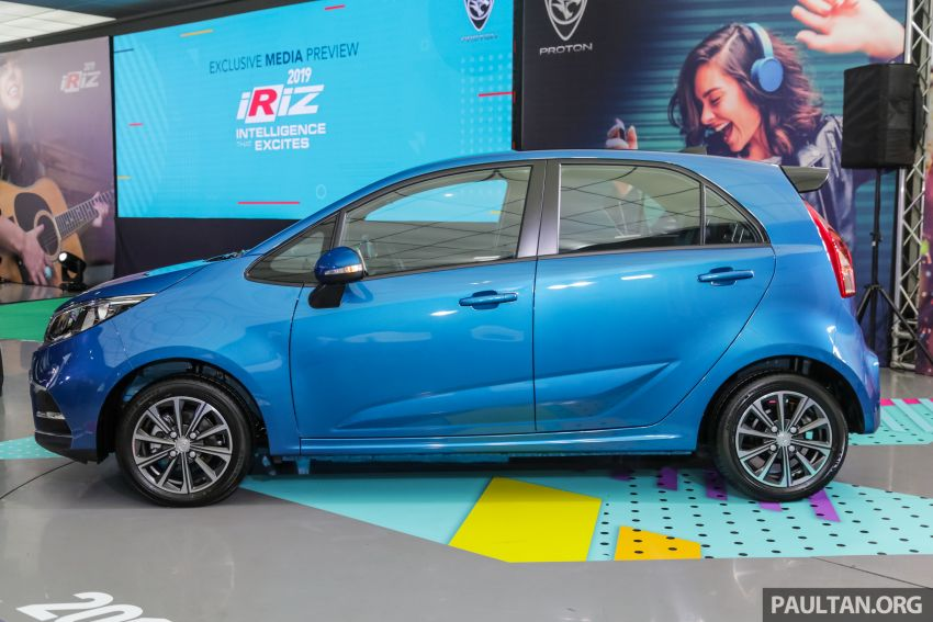 Proton Iriz facelift 2019 – 5 varian ditawarkan; enjin 1.3L dan 1.6L; yuran tempahan RM9.90 dari 1-22 Mac Image #927787