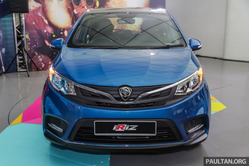 Proton Iriz facelift 2019 – 5 varian ditawarkan; enjin 1.3L dan 1.6L; yuran tempahan RM9.90 dari 1-22 Mac Image #927788
