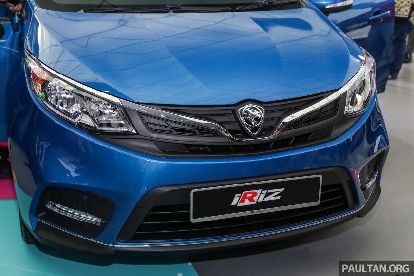 Proton Iriz facelift 2019 – 5 varian ditawarkan; enjin 1.3L dan 1.6L; yuran tempahan RM9.90 dari 1-22 Mac Image #927792