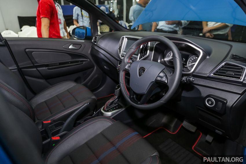 Proton Iriz facelift 2019 – 5 varian ditawarkan; enjin 1.3L dan 1.6L; yuran tempahan RM9.90 dari 1-22 Mac Image #927812
