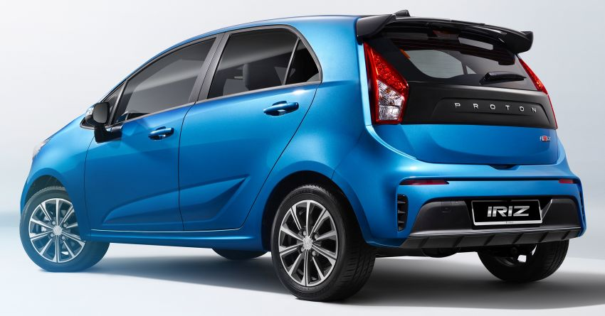 2019 Proton Iriz facelift – first official pictures released Image #918585