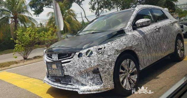 Proton X50: SPYSHOTS: Geely Binyue B-segment SUV Spotted Testing In