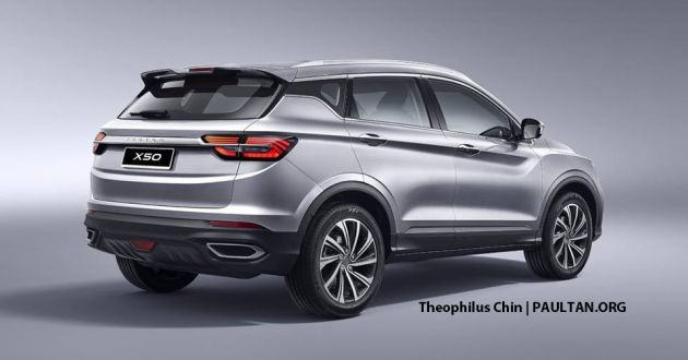 Proton X50 Suv 2020 Launch Confirmed Ckd Straight Paultan Org