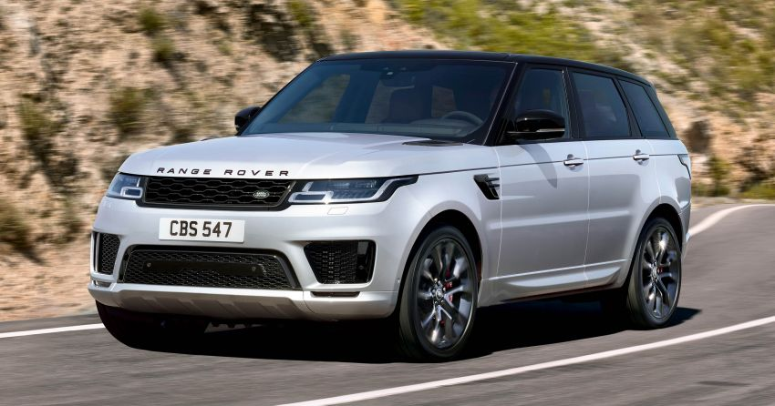 Range Rover Sport HST revealed with all-new inline-six Ingenium mild hybrid engine – 400 PS and 550 Nm Image #921171