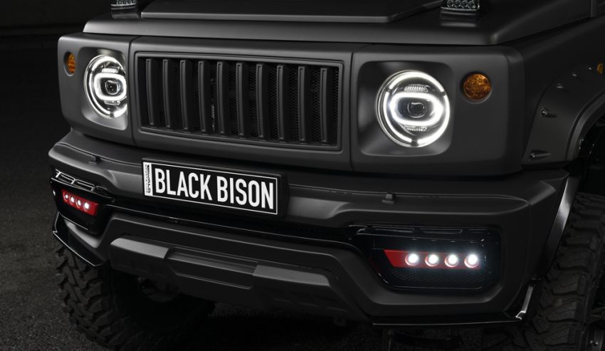 Suzuki Jimny Black Bison Edition didedah oleh Wald Image #920904