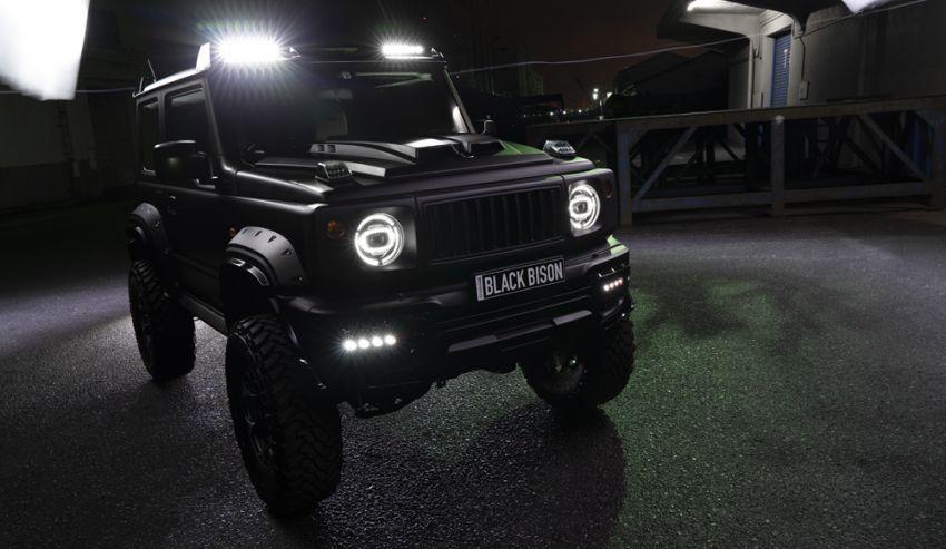 Suzuki Jimny Black Bison Edition didedah oleh Wald Image #920905