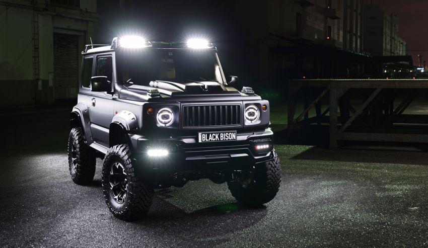 Suzuki Jimny Black Bison Edition didedah oleh Wald Image #920897