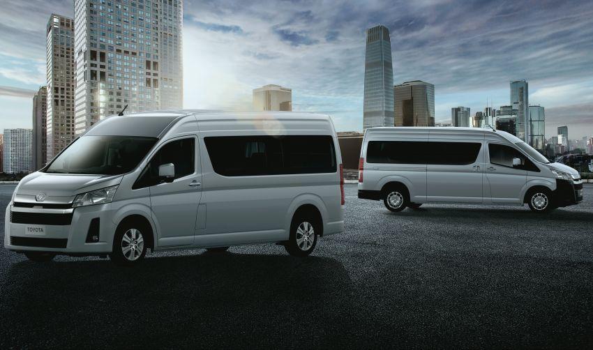 Toyota Hiace generasi baharu didedahkan – pilihan enjin V6 3.5L petrol dan 2.8L turbodiesel, lebih besar Image #922787
