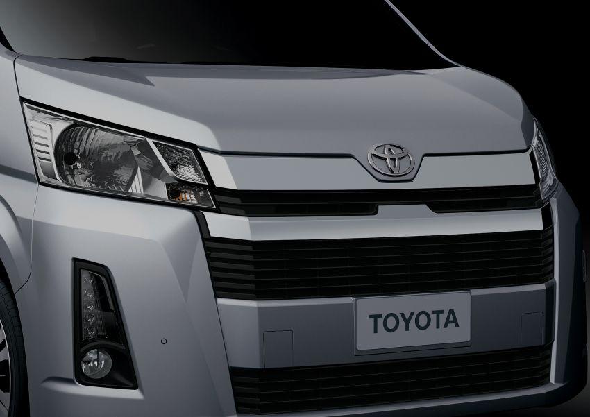 Toyota Hiace generasi baharu didedahkan – pilihan enjin V6 3.5L petrol dan 2.8L turbodiesel, lebih besar Image #922784