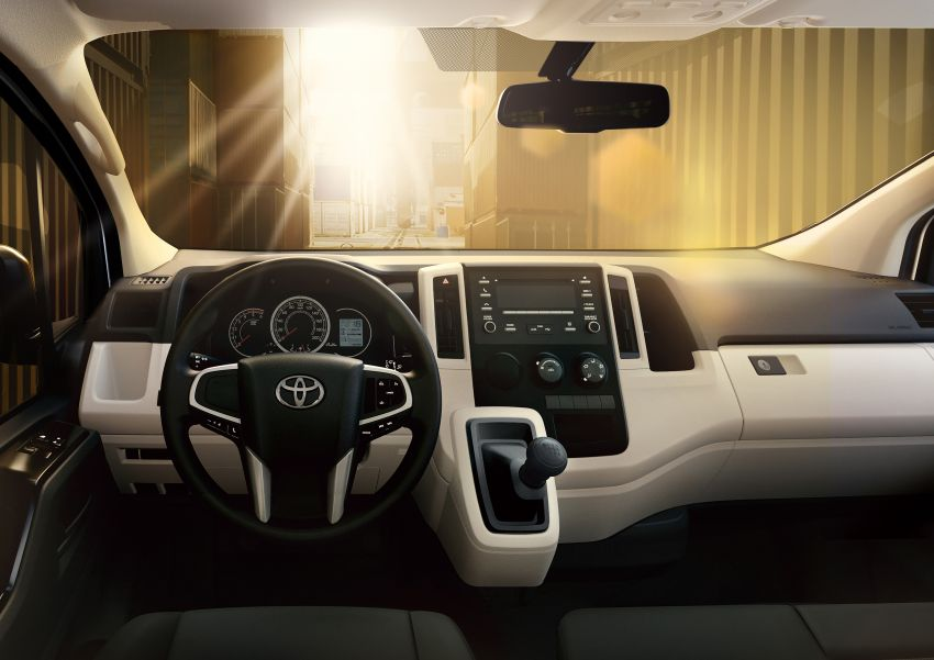 Toyota Hiace generasi baharu didedahkan – pilihan enjin V6 3.5L petrol dan 2.8L turbodiesel, lebih besar Image #922783