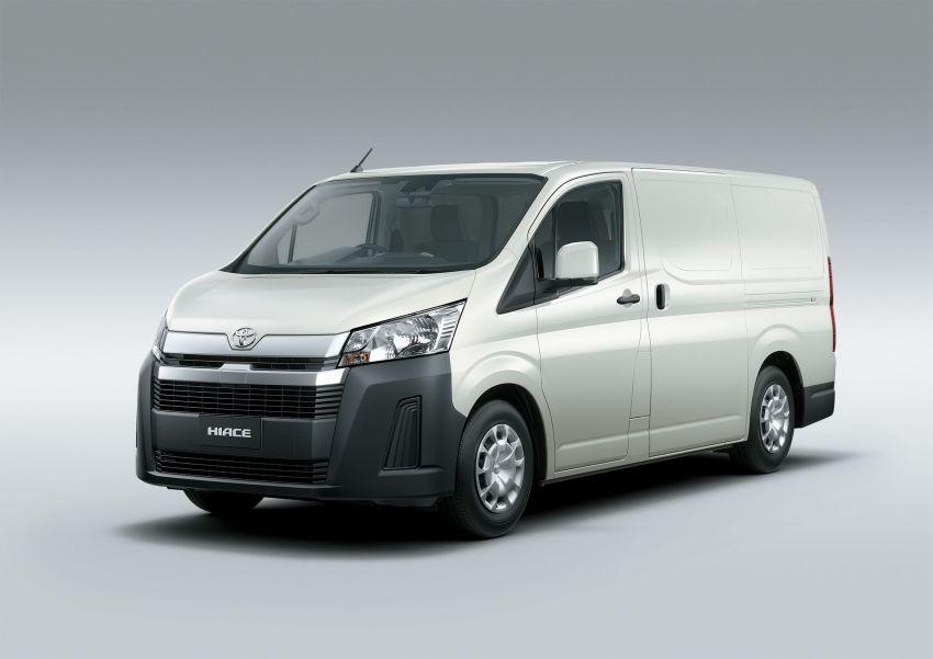Toyota Hiace generasi baharu didedahkan – pilihan enjin V6 3.5L petrol dan 2.8L turbodiesel, lebih besar Image #922781