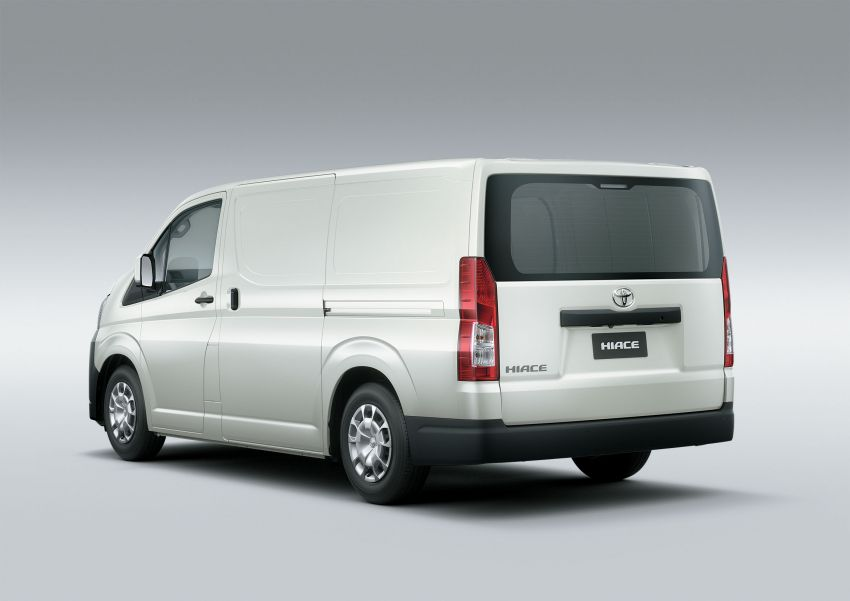 Toyota Hiace generasi baharu didedahkan – pilihan enjin V6 3.5L petrol dan 2.8L turbodiesel, lebih besar Image #922780
