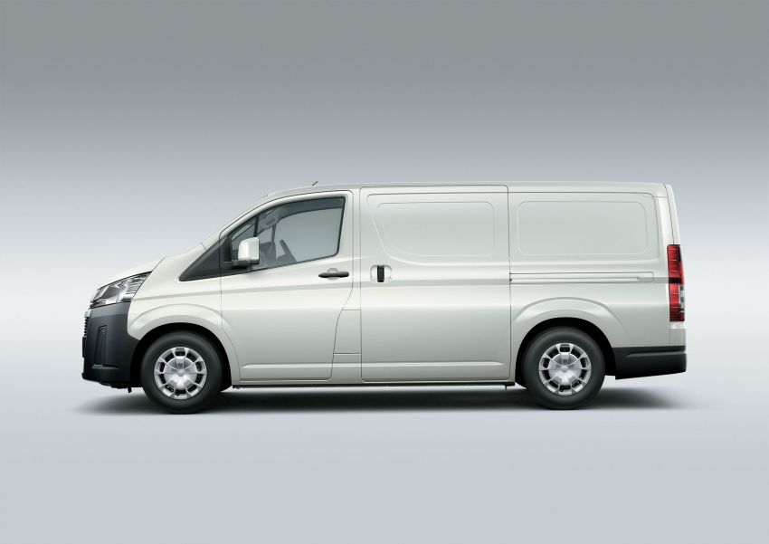 Toyota Hiace generasi baharu didedahkan – pilihan enjin V6 3.5L petrol dan 2.8L turbodiesel, lebih besar Image #922779