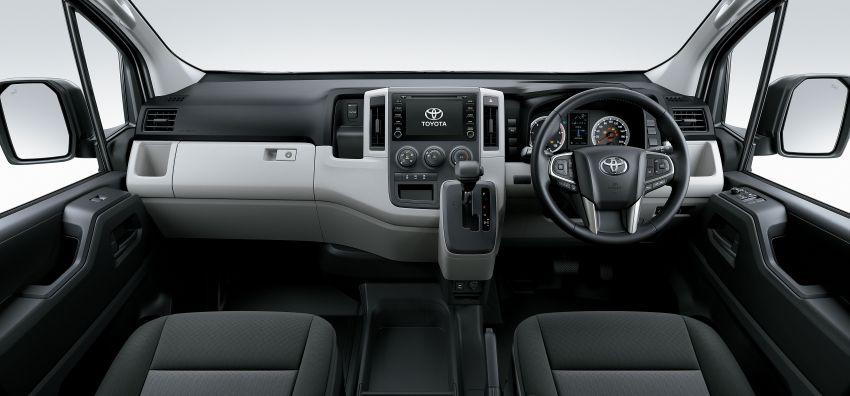 Toyota Hiace generasi baharu didedahkan – pilihan enjin V6 3.5L petrol dan 2.8L turbodiesel, lebih besar Image #922778