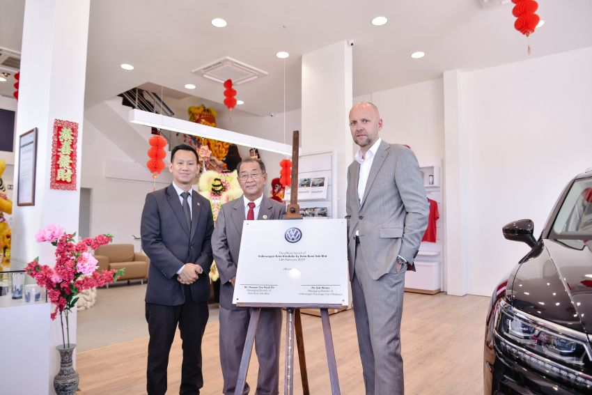 Volkswagen opens first Sabah 3S centre in Inanam Image #922316
