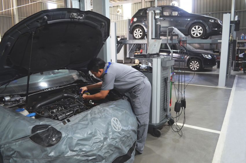 Volkswagen opens first Sabah 3S centre in Inanam Image #922317