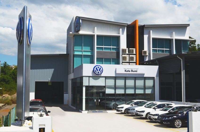 Volkswagen opens first Sabah 3S centre in Inanam Image #922318