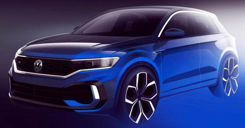 Volkswagen T-Roc R – teaser di siar, muncul di Geneva Image #922008