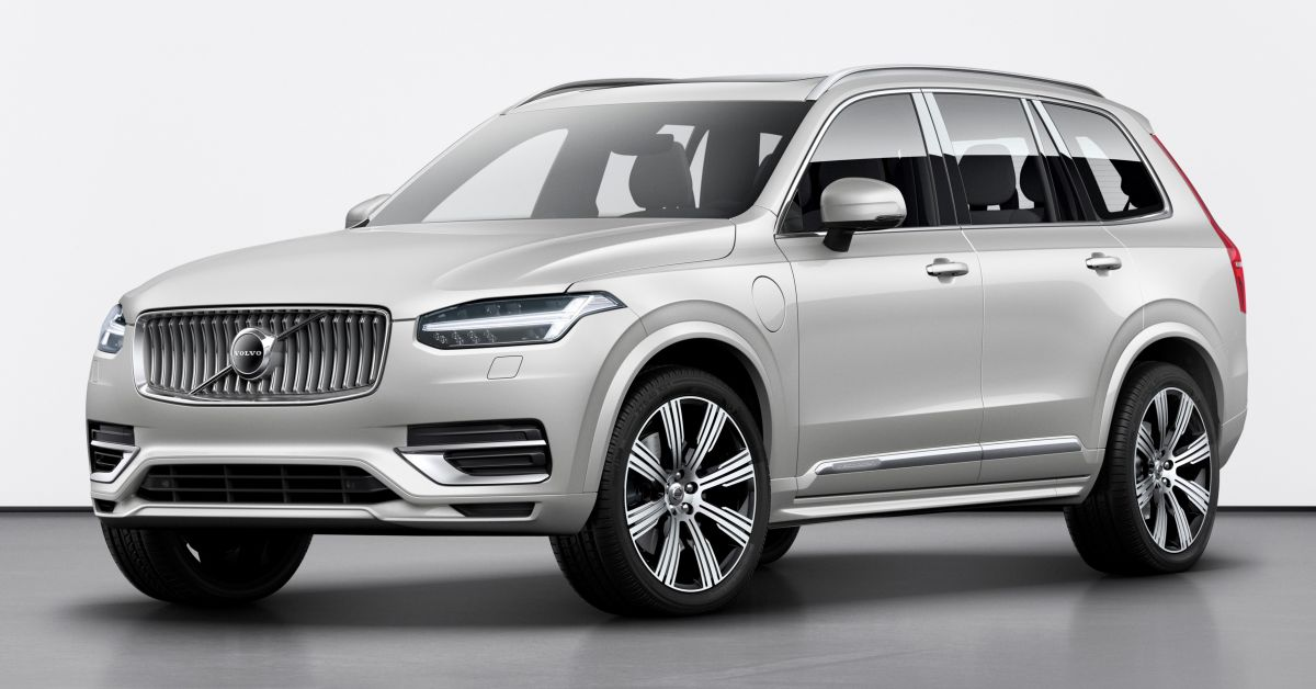 Volvo Xc90 2020 Facelift Gets Kers Technology 420 Hp T8