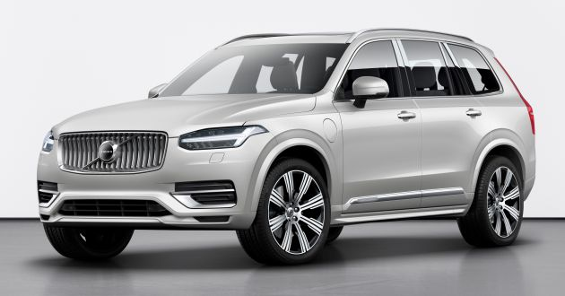 2020 Volvo XC90 facelift gets KERS technology - 420 PS T8 Twin