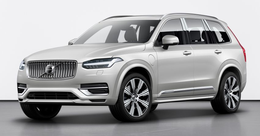 2020 Volvo XC90 facelift unveiled – 420 PS T8 Twin Engine; 48V ISG mild hybrid models to join line-up Image #925094