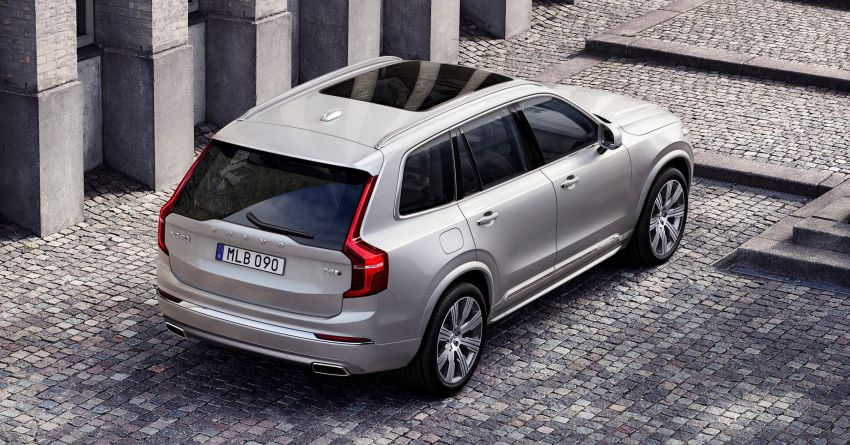2020 Volvo XC90 facelift unveiled – 420 PS T8 Twin Engine; 48V ISG mild hybrid models to join line-up Image #925110