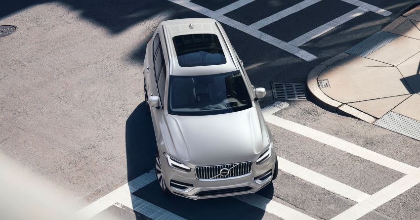 2020 Volvo XC90 facelift unveiled – 420 PS T8 Twin Engine; 48V ISG mild hybrid models to join line-up Image #925111