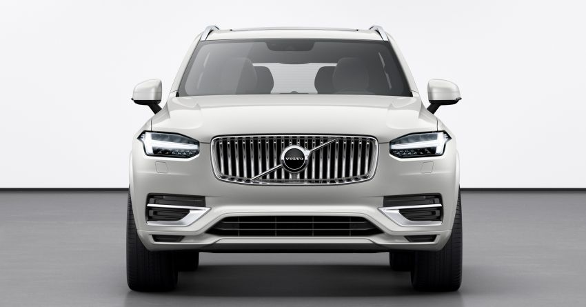 2020 Volvo XC90 facelift unveiled – 420 PS T8 Twin Engine; 48V ISG mild hybrid models to join line-up Image #925096