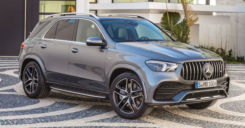 Mercedes-AMG GLE53 4Matic+ debuts with 435 hp! Image #926870
