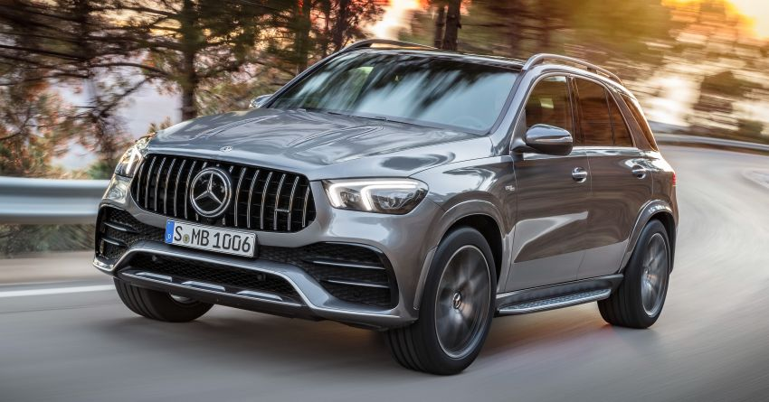 Mercedes-AMG GLE53 4Matic+ debuts with 435 hp! Image #926877