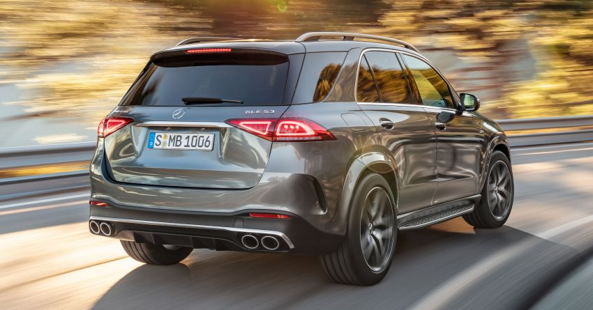 Mercedes-AMG GLE53 4Matic+ debuts with 435 hp! Image #926889