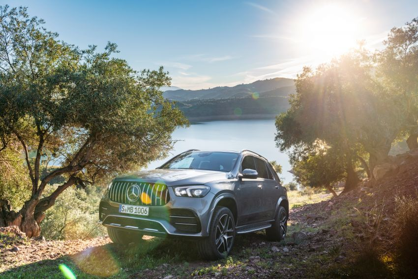Mercedes-AMG GLE53 4Matic+ debuts with 435 hp! Image #926904