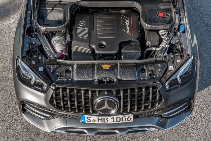 Mercedes-AMG GLE53 4Matic+ debuts with 435 hp! Image #926906