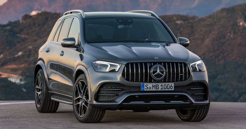 Mercedes-AMG GLE53 4Matic+ debuts with 435 hp! Image #926843