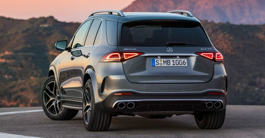Mercedes-AMG GLE53 4Matic+ debuts with 435 hp! Image #926846