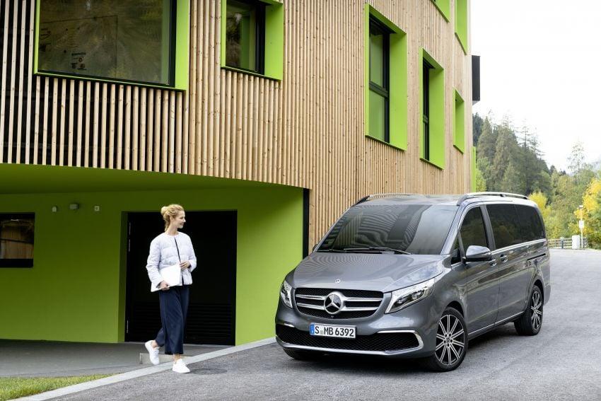 W447 Mercedes-Benz V-Class facelift gets new diesel Image #918891