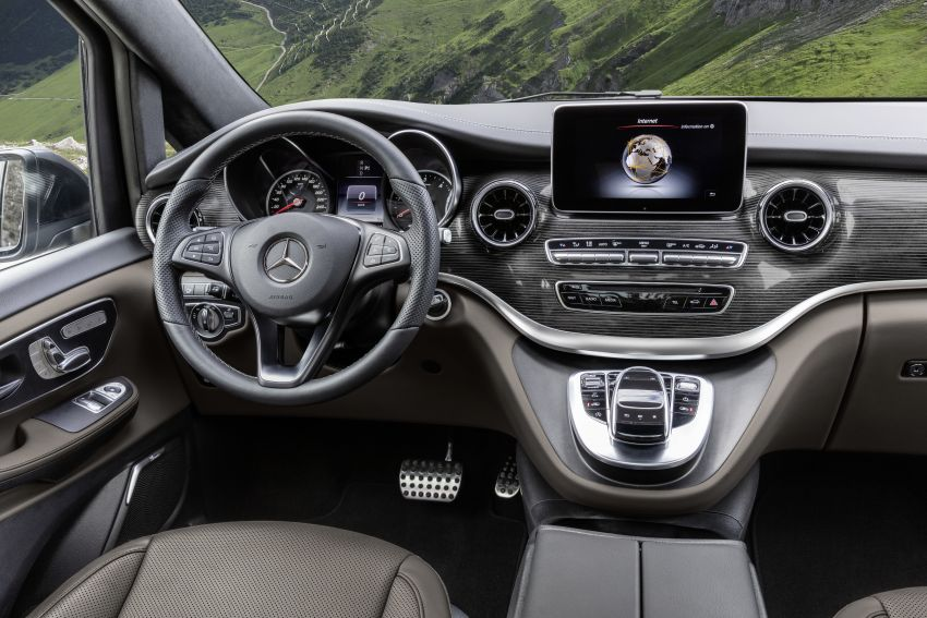 W447 Mercedes-Benz V-Class facelift gets new diesel Image #918899