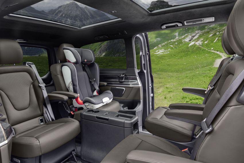 W447 Mercedes-Benz V-Class facelift gets new diesel Image #918900