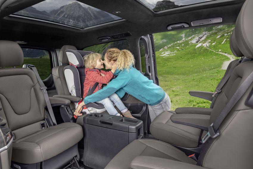 W447 Mercedes-Benz V-Class facelift gets new diesel Image #918901